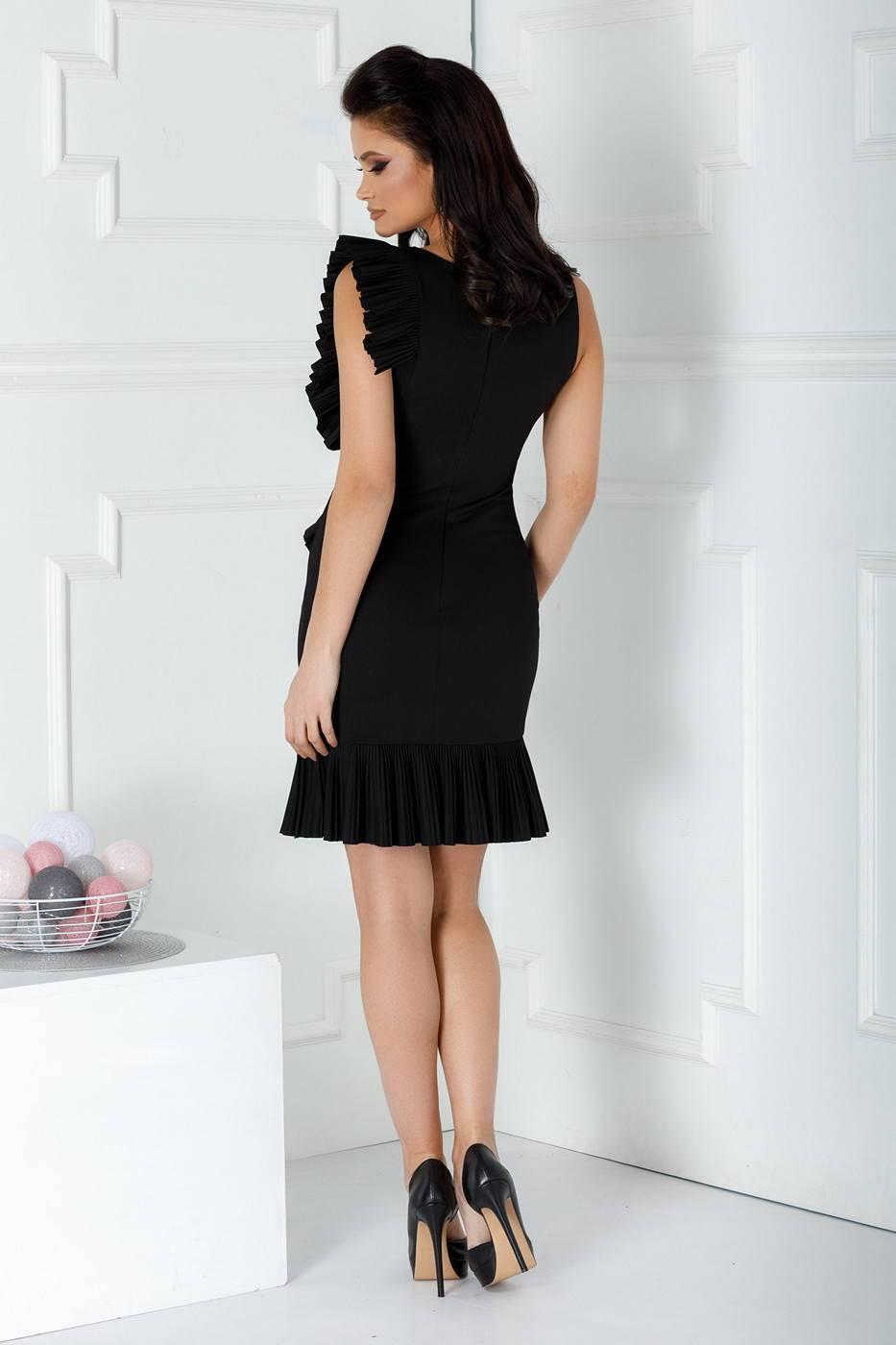 Hazel Μαύρο Φόρεμα 1277