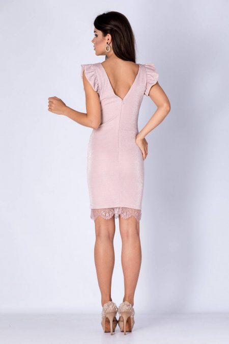 Marla Ροζ Φόρεμα 1314