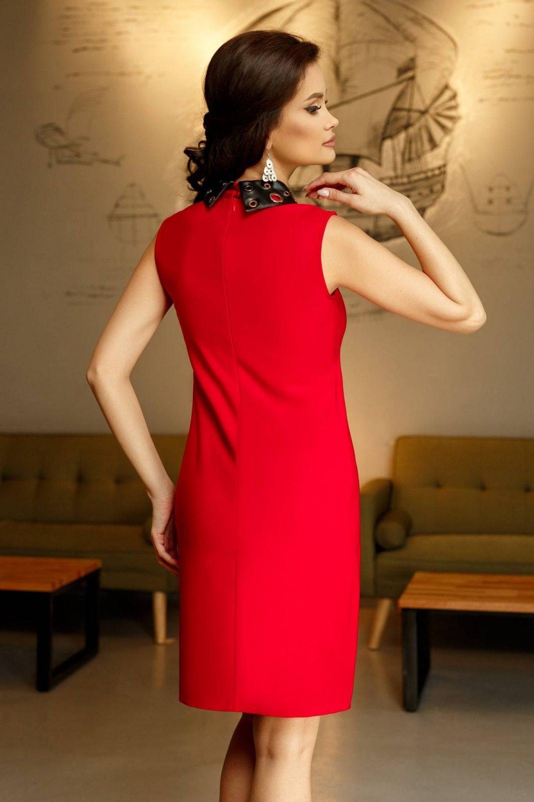 Norina Κόκκινο Φόρεμα 5206