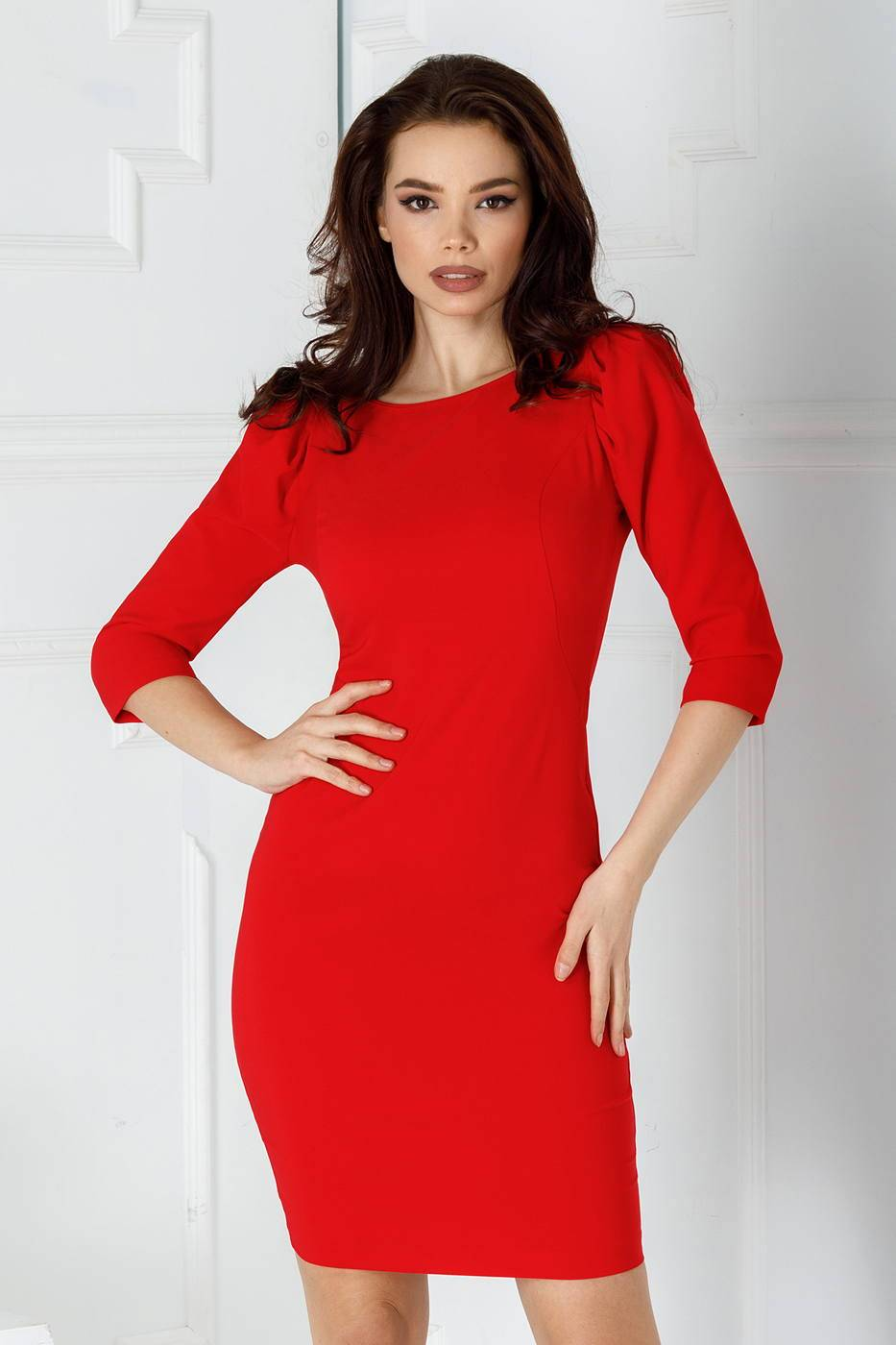 Lamia Red Dress