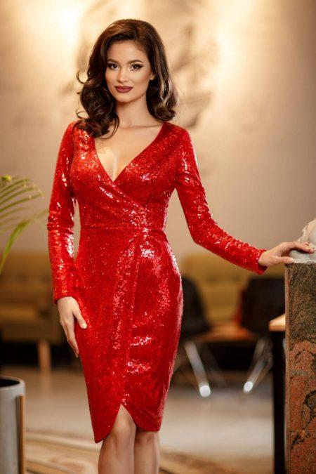 Elektra Red Dress