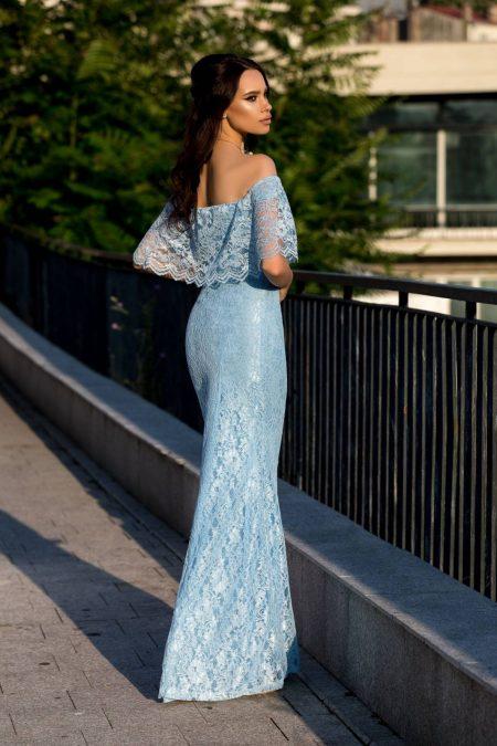 Samora Μπλε Φόρεμα 2330