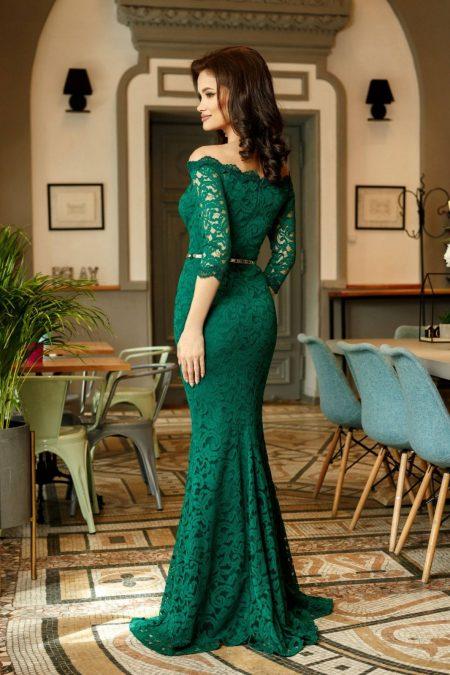 Indilla Πράσινο Φόρεμα 1415