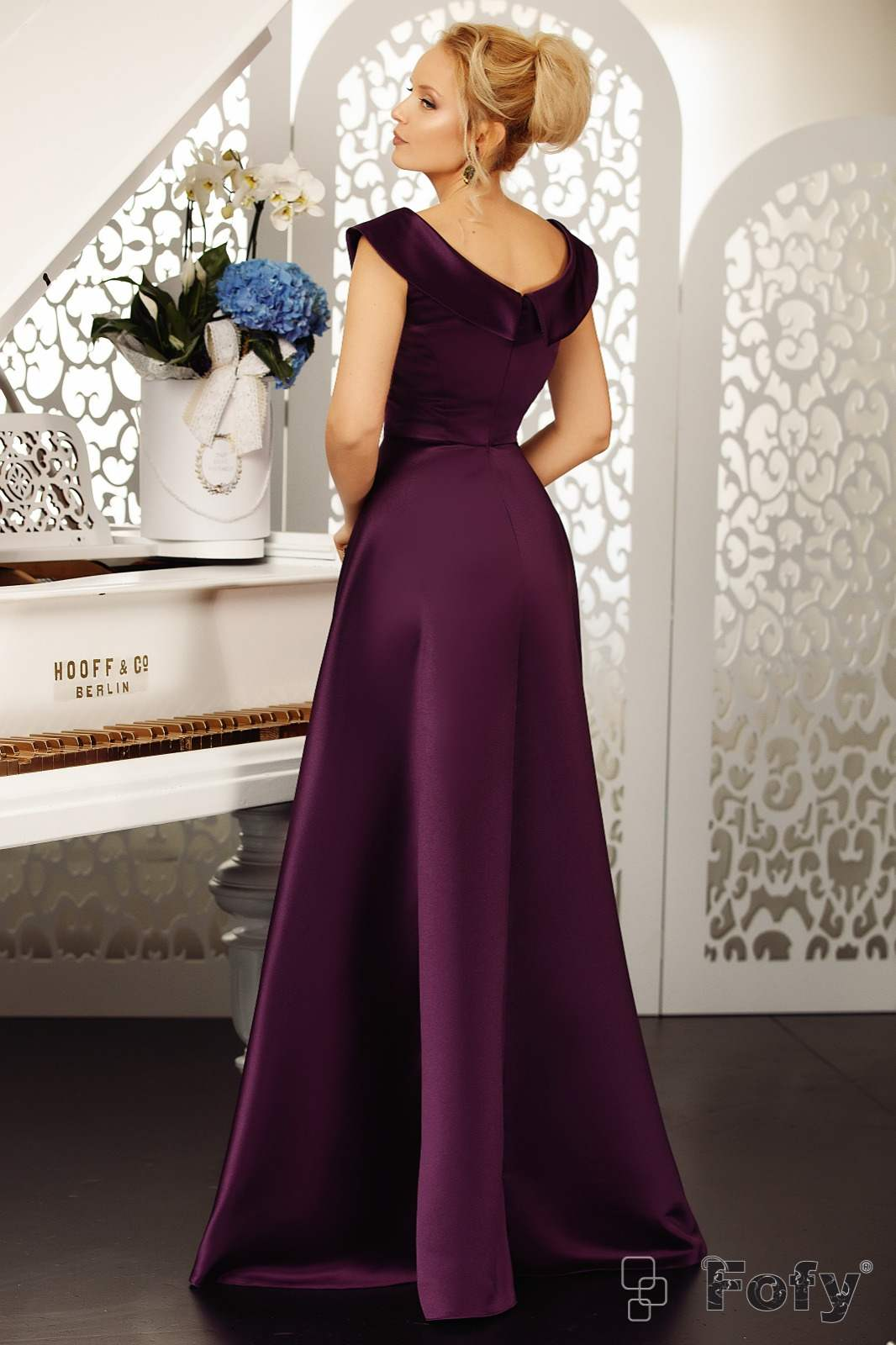 Goddess Βιολετί Φόρεμα 2108