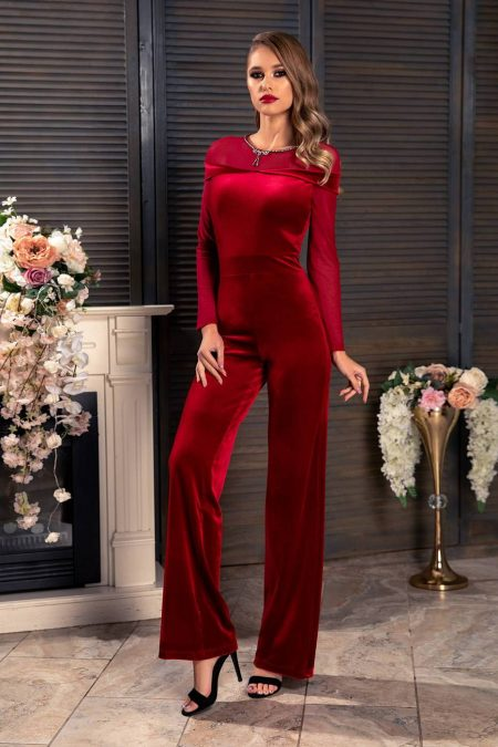 Rouge Marsala Jumpsuit