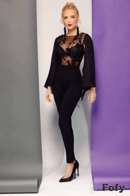 Ginger Black Jumpsuit