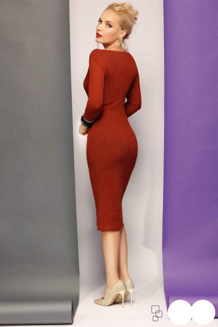 Amy Κεραμίδι Φόρεμα 4779