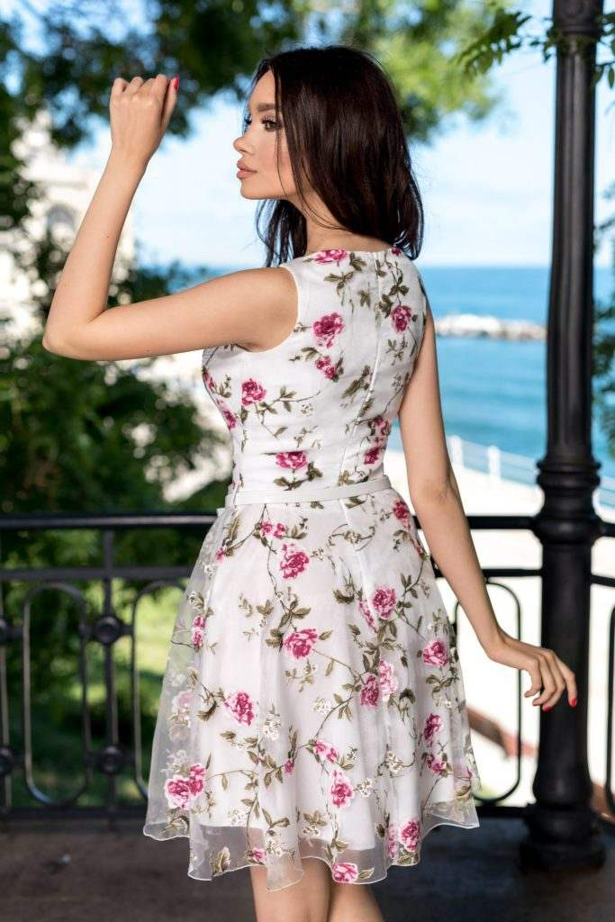 Ossie Floral Dress 490