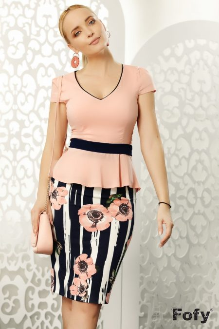 Claire Pink Skirt