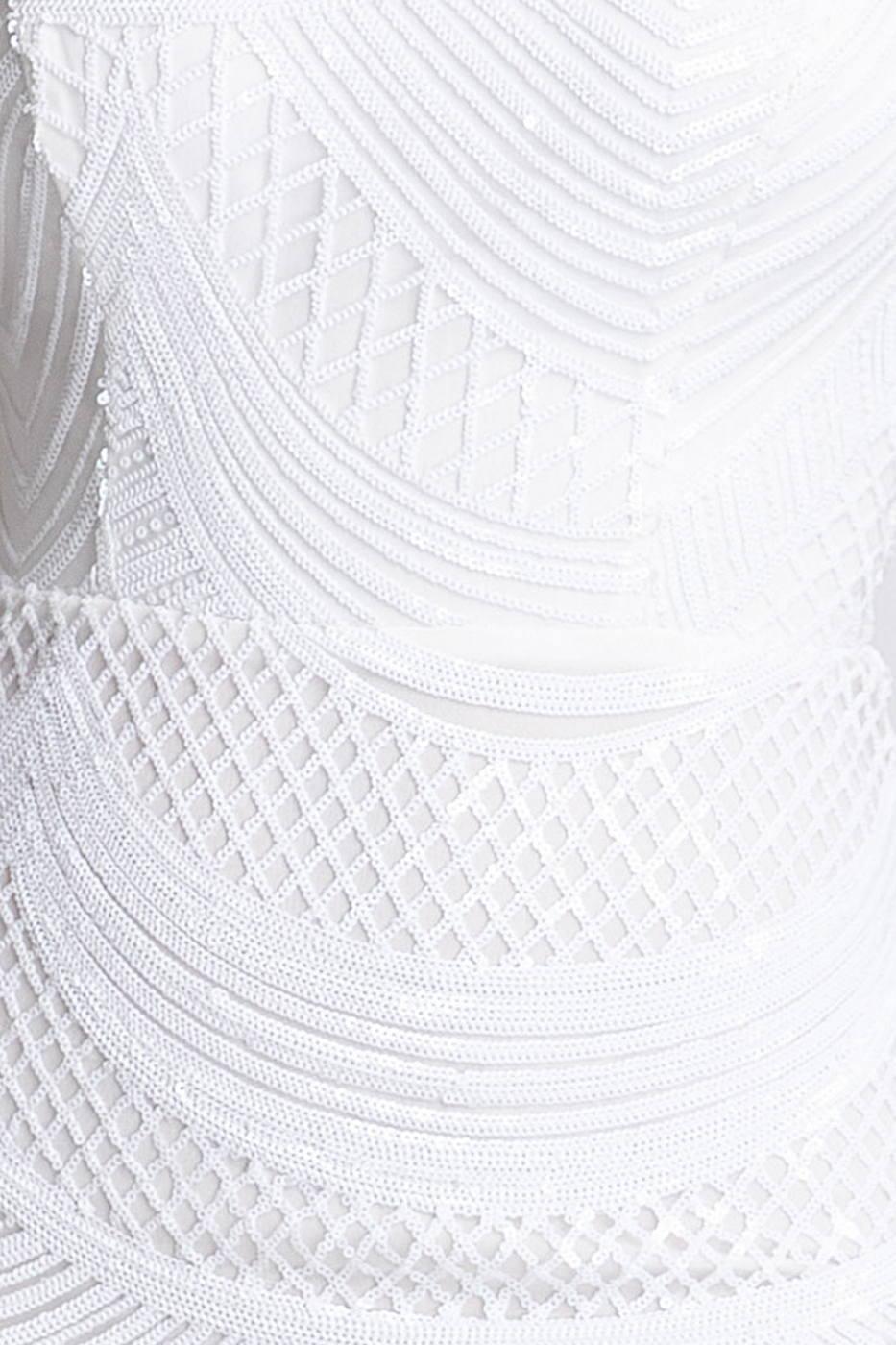 Galya Άσπρο Φόρεμα 1425