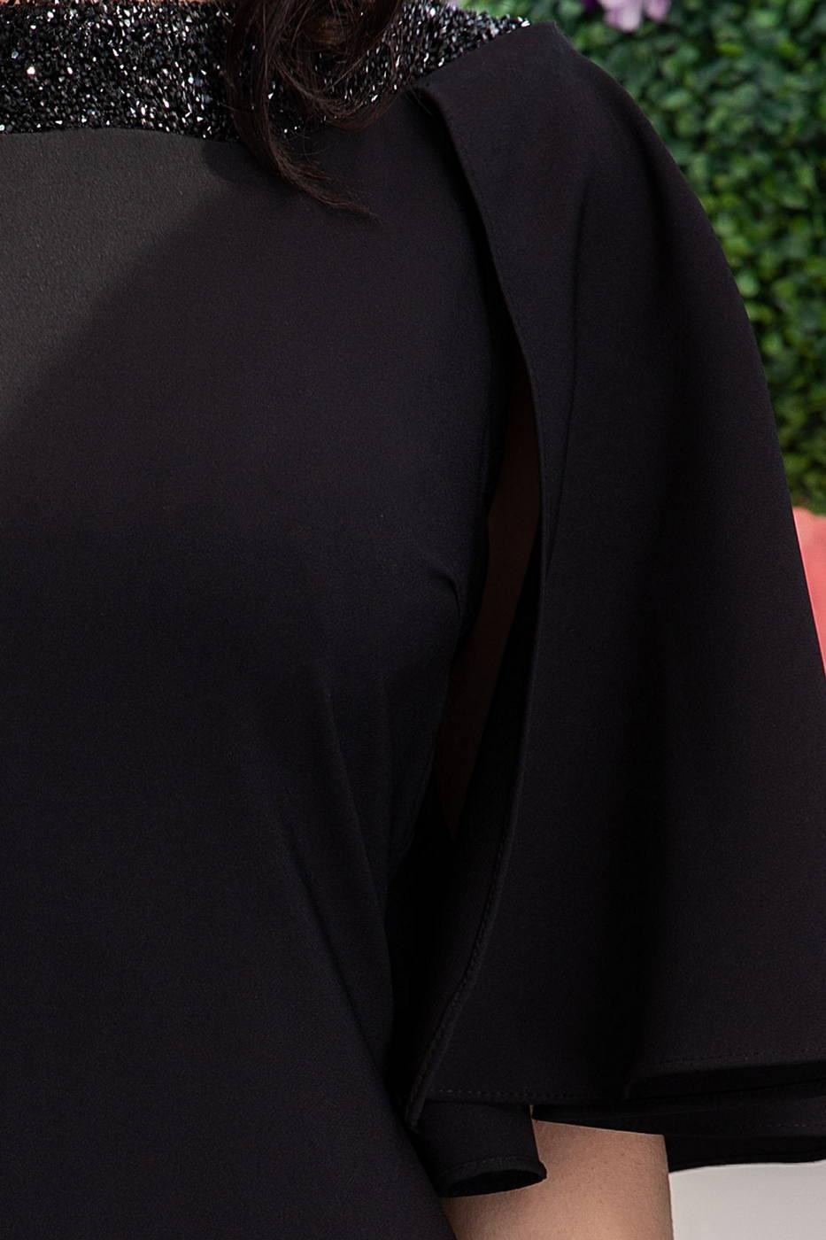 Hermione Μαύρο Φόρεμα 1102