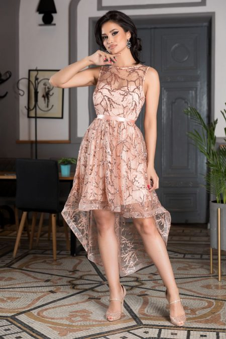 Lorette Rose Dress