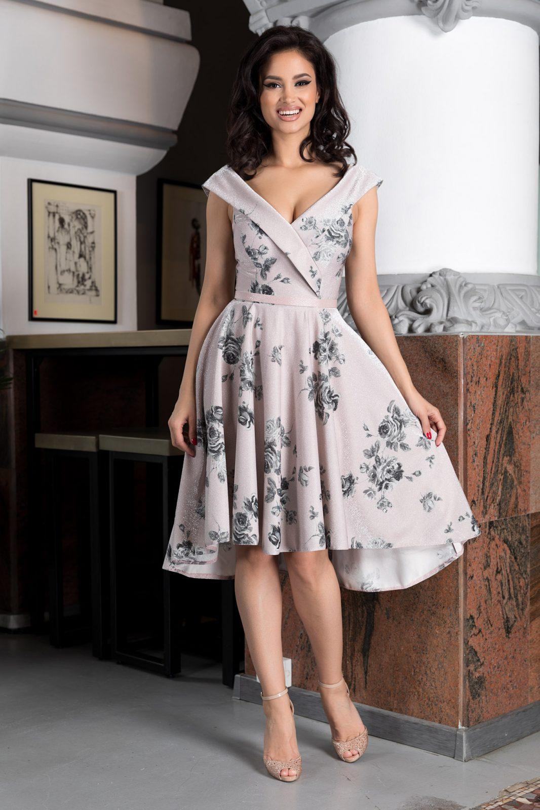 Callista Ροζ Φόρεμα 4619