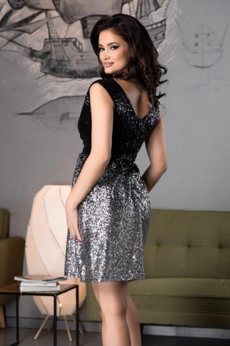 Desiree Μαύρο Φόρεμα 4550