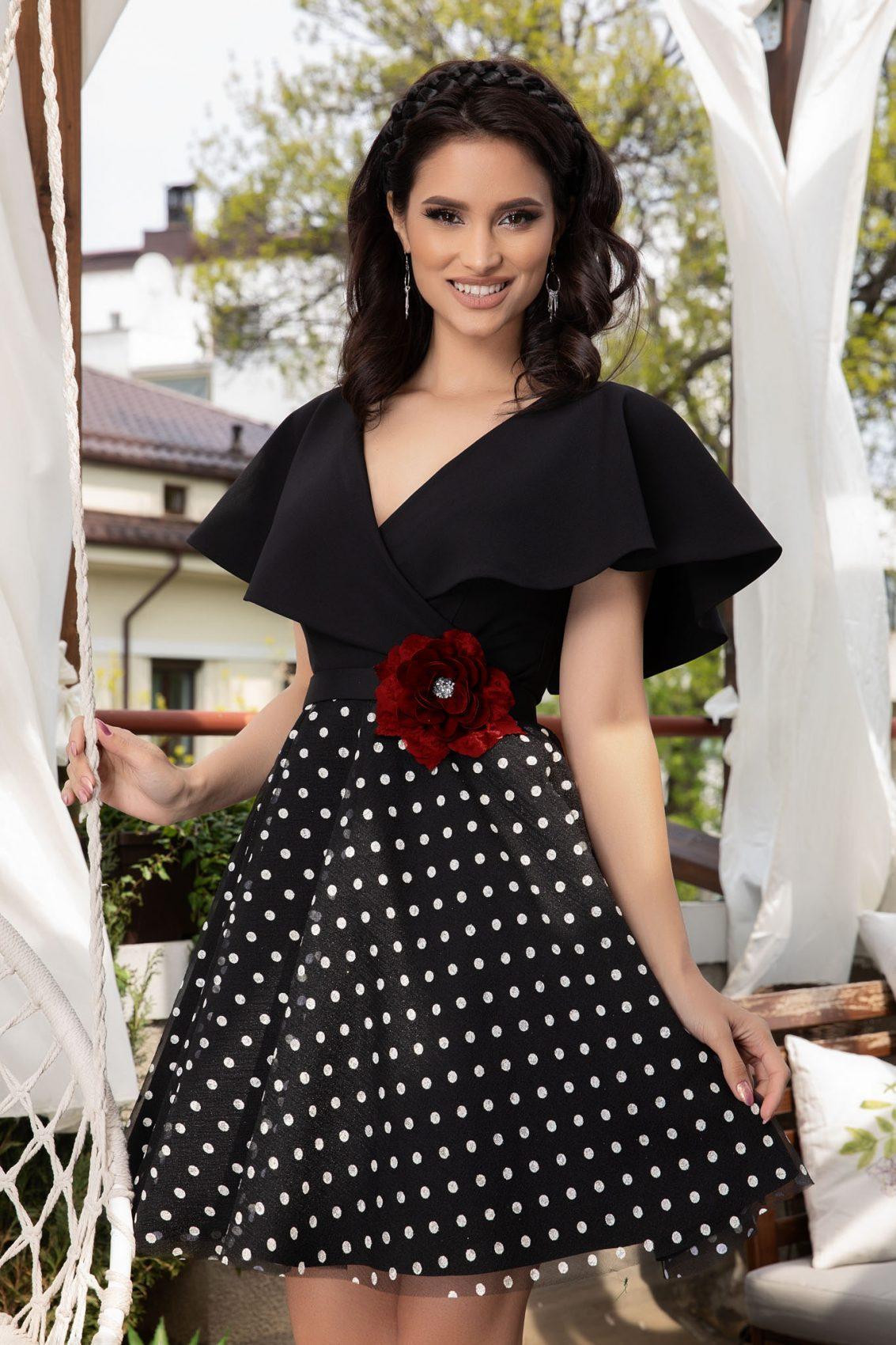 Girly Black Dress
