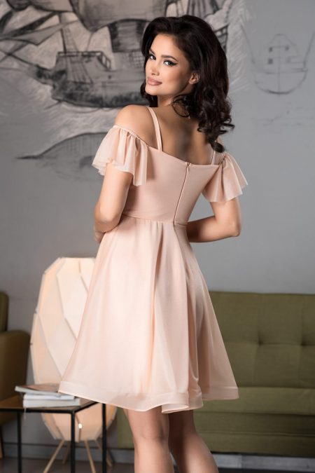 Sonique Ροζ Φόρεμα 4571