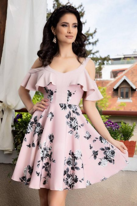 Roselin Rose Dress