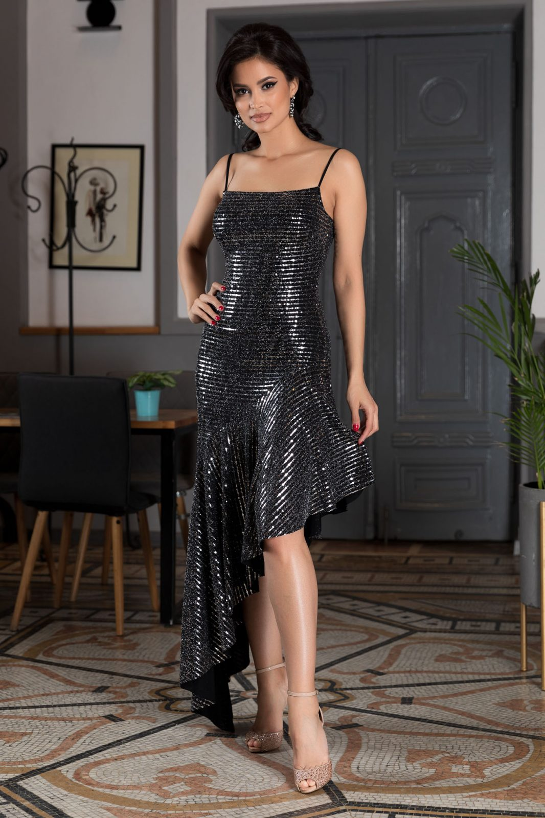 Galatea Silver Dress