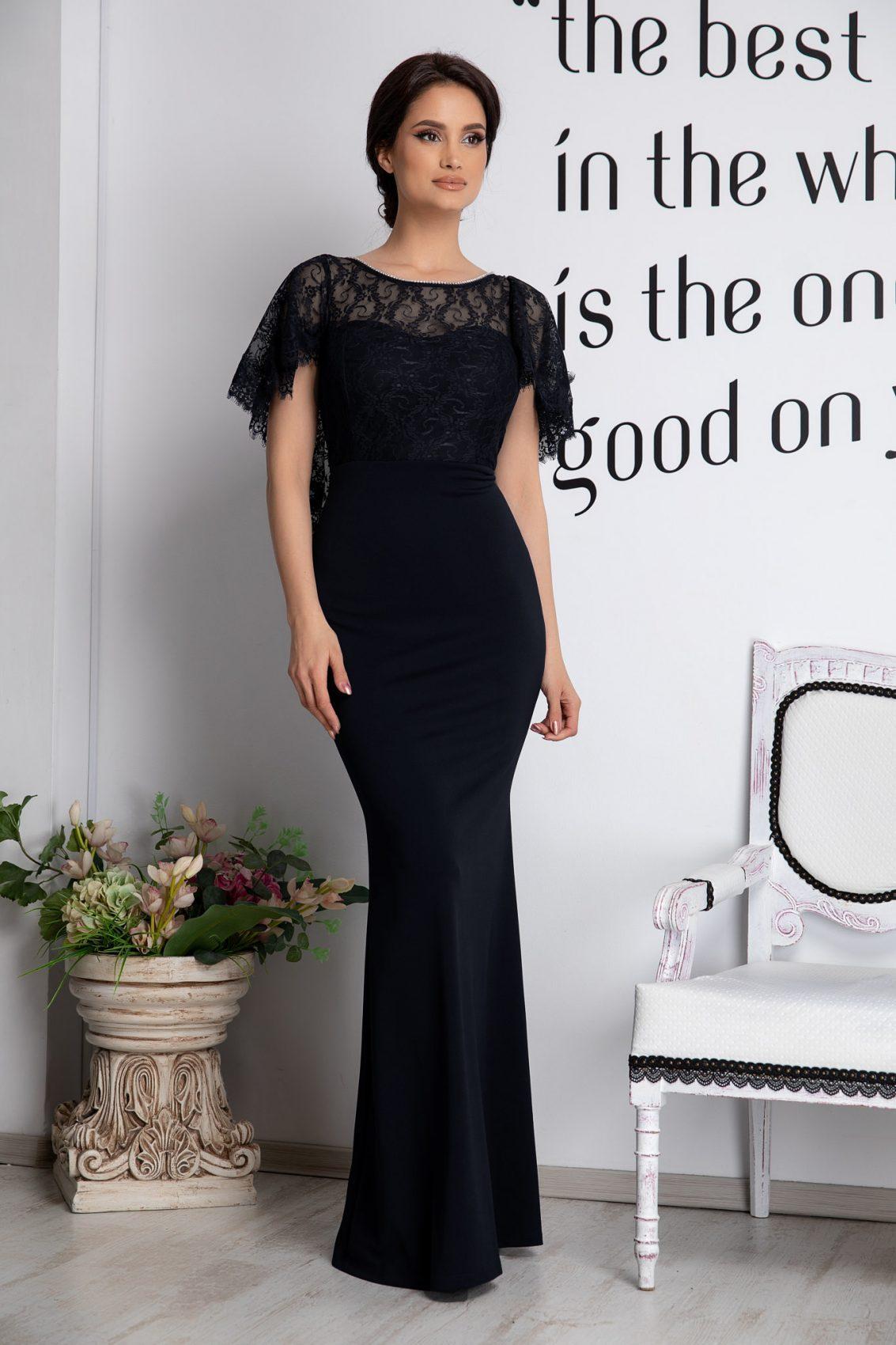 Olimpia Black Dress