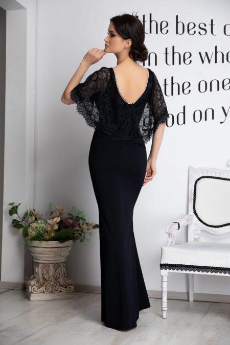 Olimpia Μαύρο Φόρεμα 4512