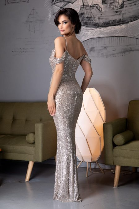 Cherish Nude Φόρεμα 4584
