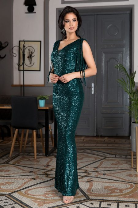 Sophisticated Green Dress