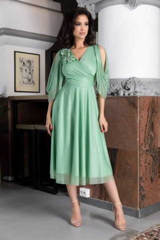 Rosario Light Green Dress