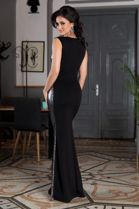 Addicted Μαύρο Φόρεμα 4558