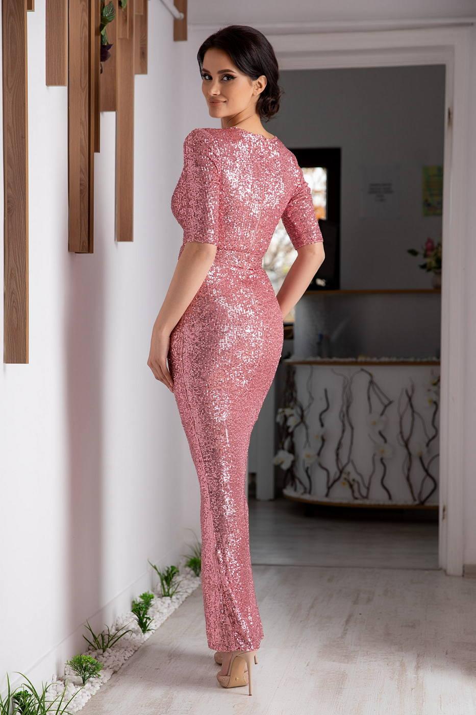 Extasy Ροζ Φόρεμα 4638