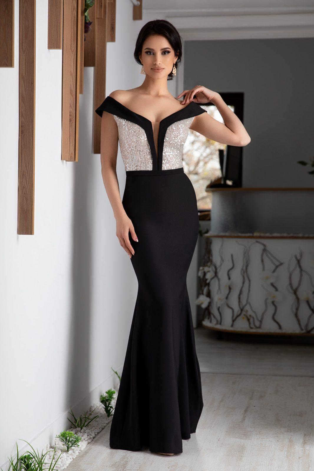 Leah Black Dress