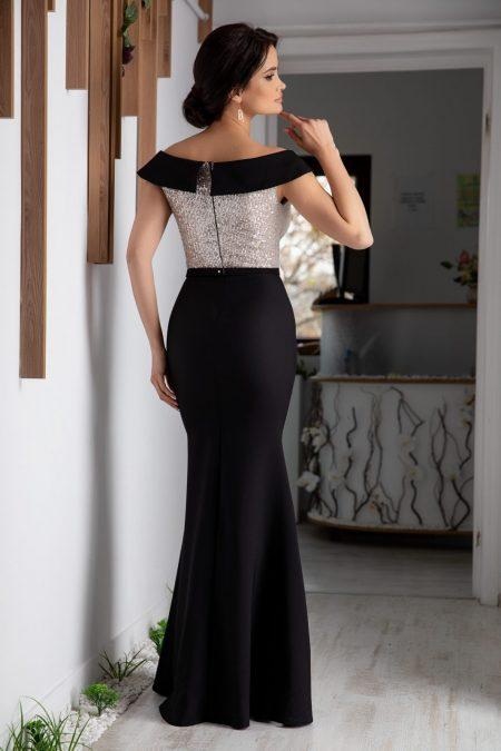 Leah Μαύρο Φόρεμα 4855
