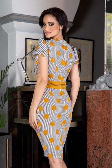 La Donna Brissa Yellow Dress
