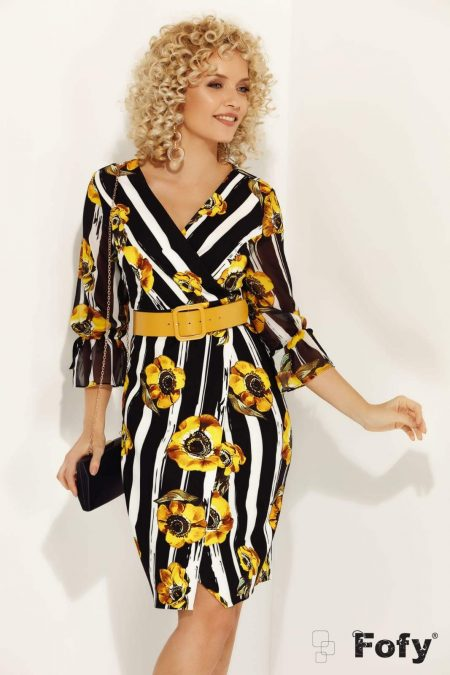 Lowers Yellow Φόρεμα 244