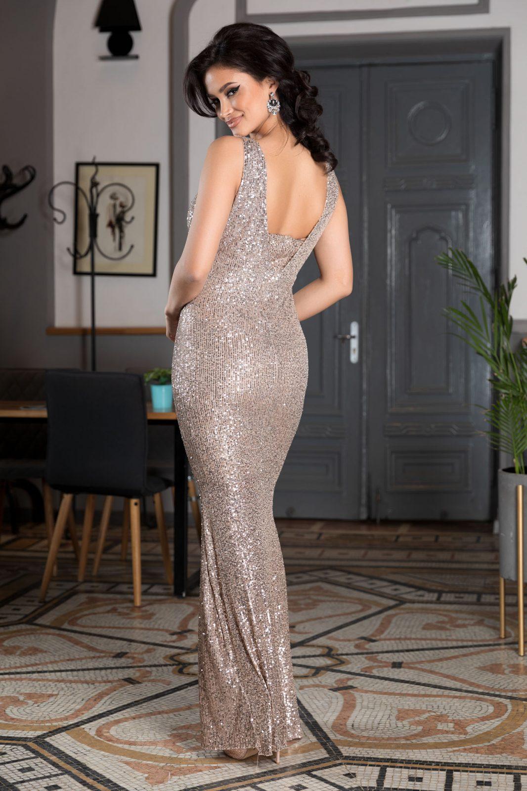 Night Diva Nude Φόρεμα 4579
