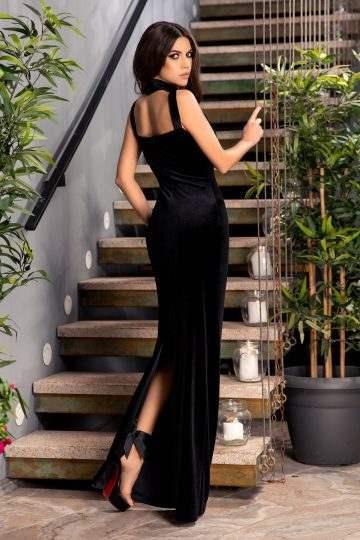 Ataryna Μαύρο Φόρεμα 4774