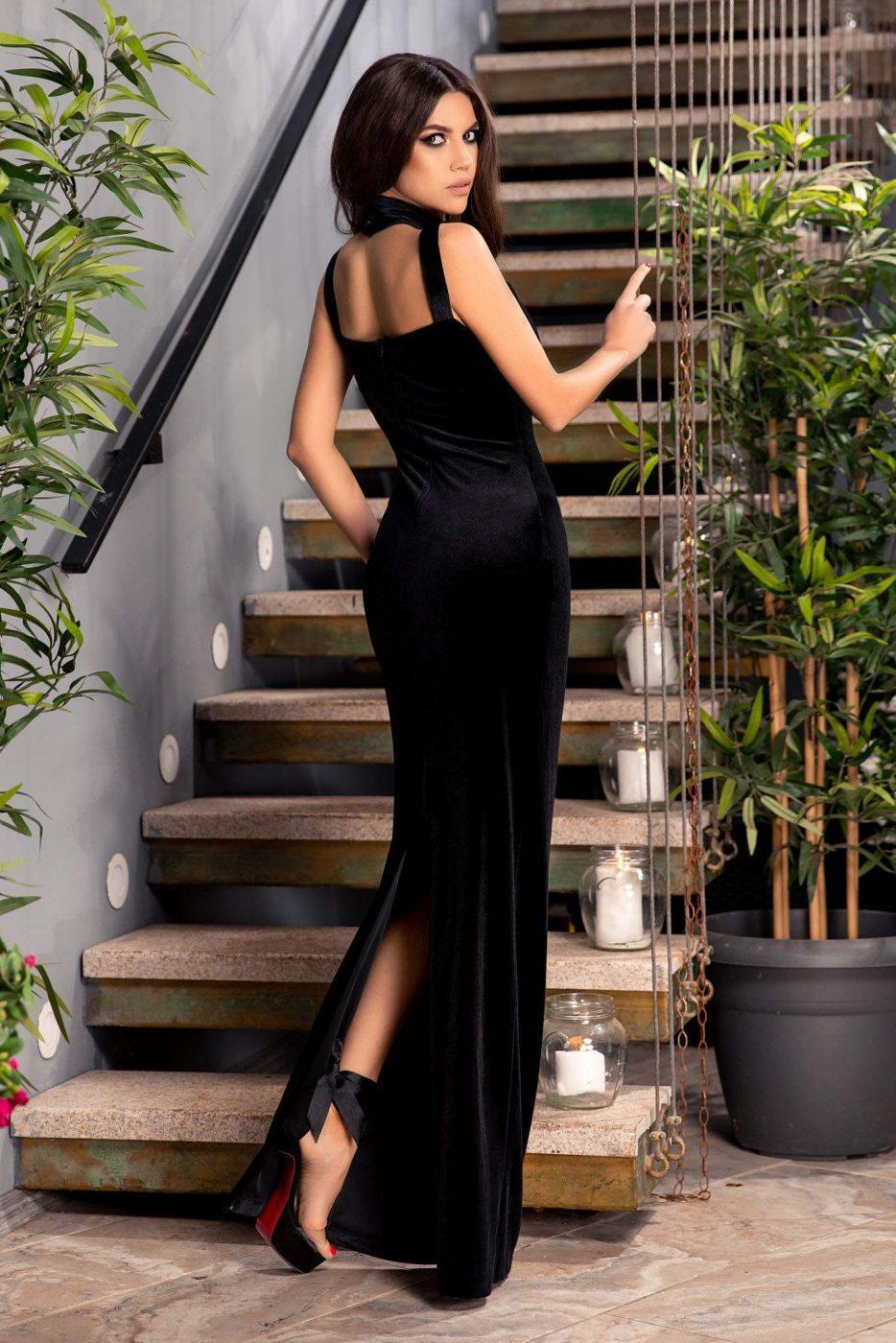 Μαύρο Φόρεμα Rita 4774 2