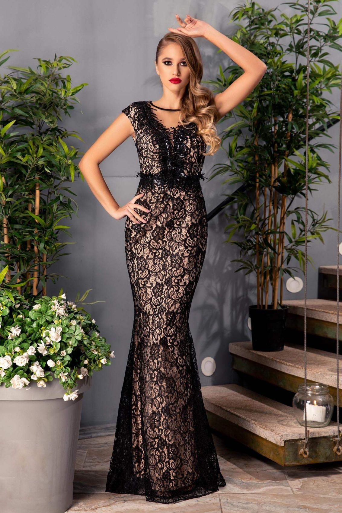 53420978e51 Rush Μαύρο Φόρεμα 431