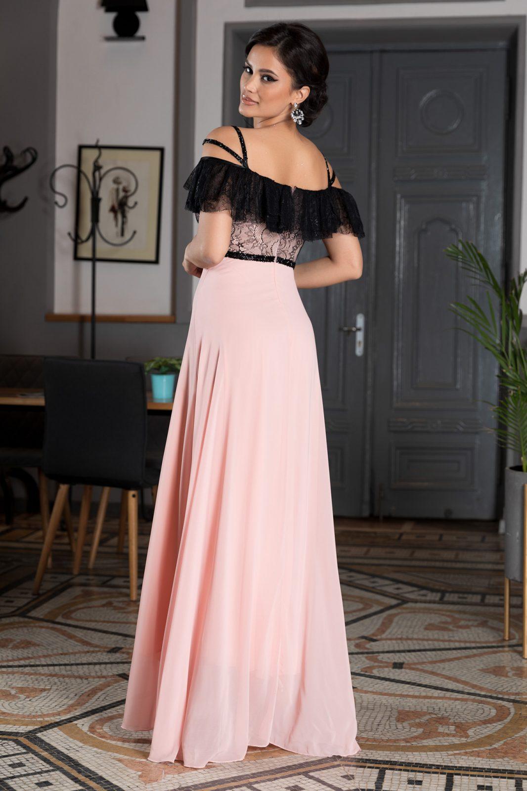 Mistery Ροζ Φόρεμα 2305