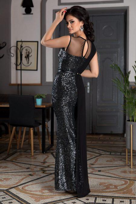Attraction Μαύρο Φόρεμα 4568