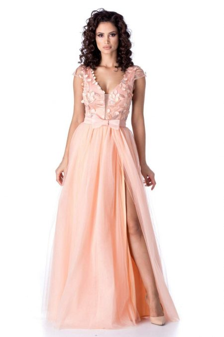 Egina Peach Dress 430