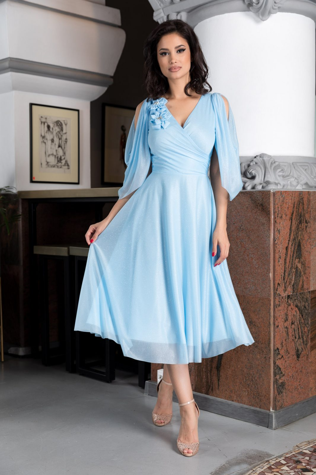 Rosario Blue Dress