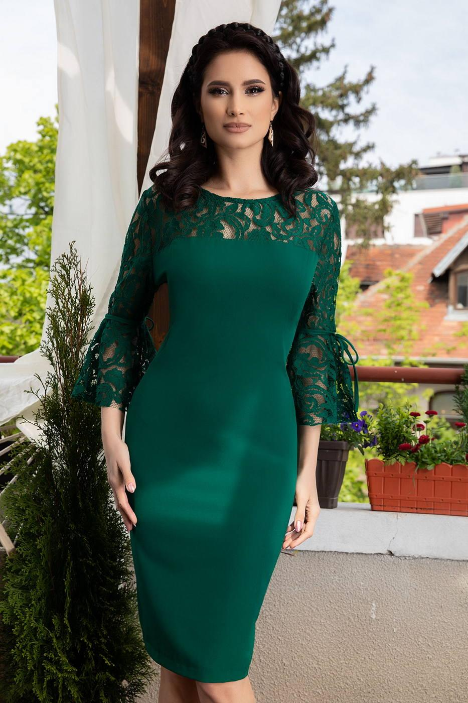 Senna Green Dress