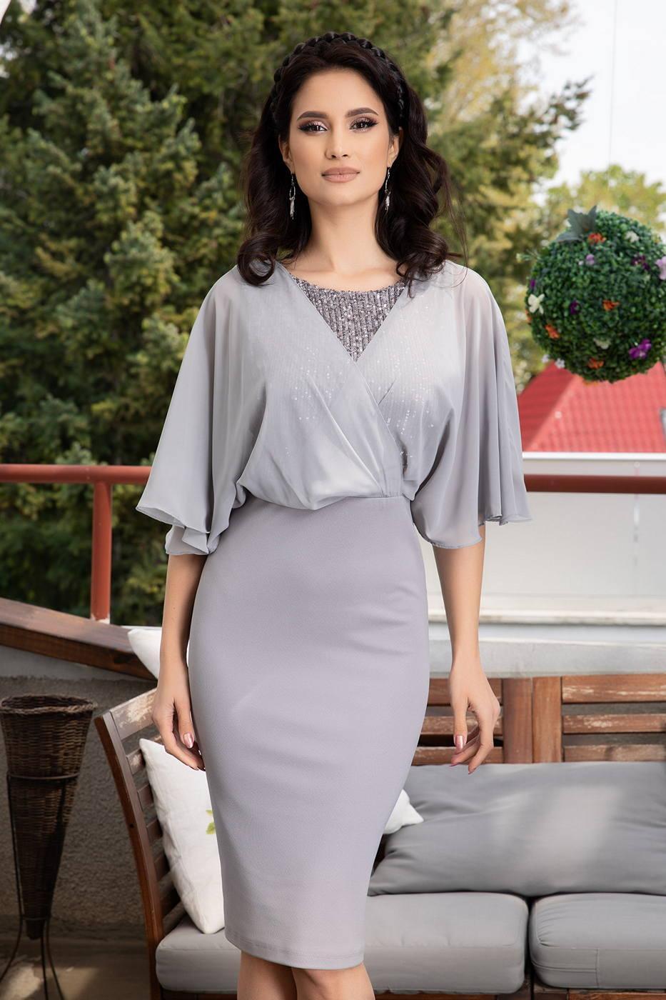 Camille Γκρι Φόρεμα 1457