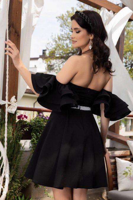 Chanelle Μαύρο Φόρεμα 1436