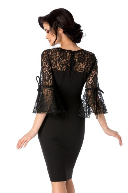 Senna Μαύρο Φόρεμα 1550