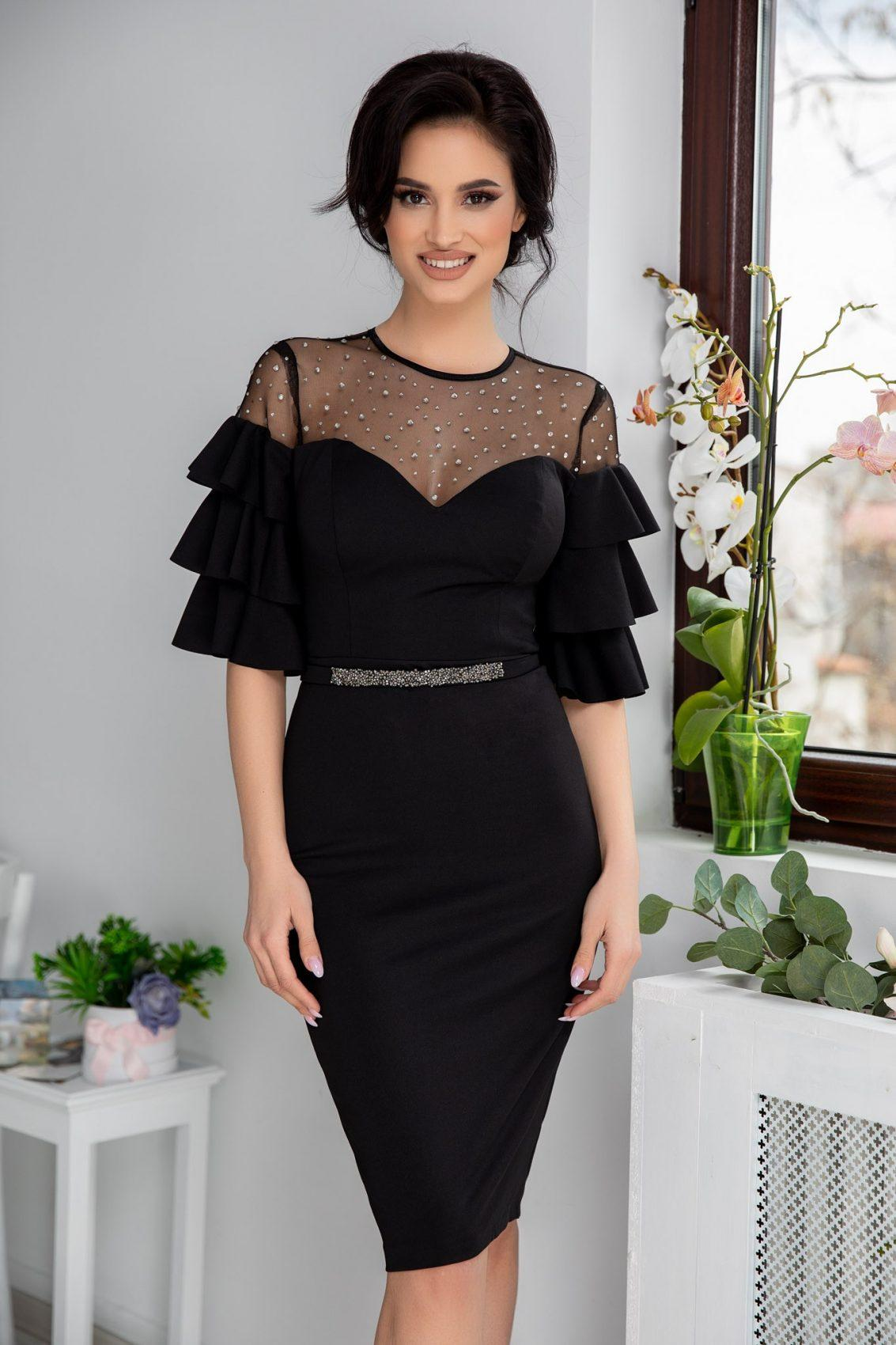 Miryam Black Dress