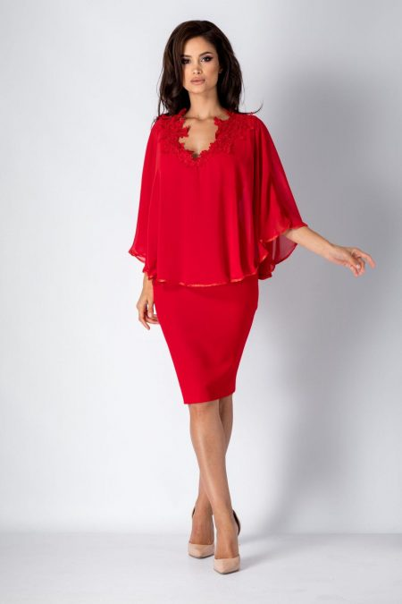 Calliope Red Dress