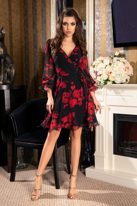 Simine Bicolore Dress