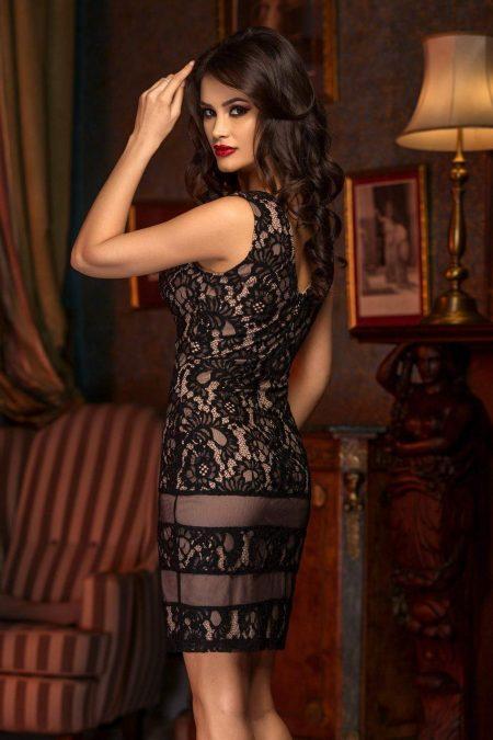 Mina Black Dress 417