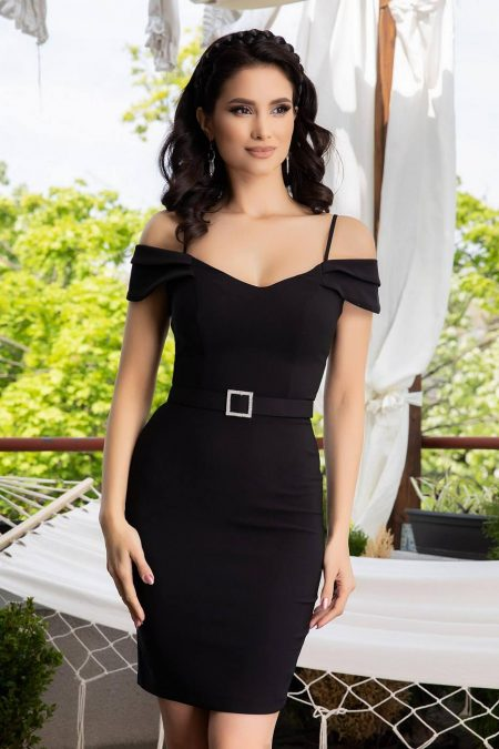 Noyre Black Dress